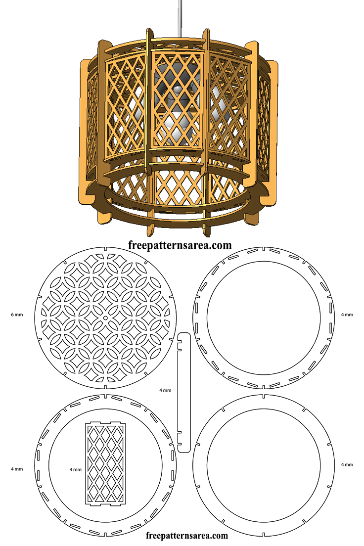 Wood drum chandelier light free laser cutting design download free laser cut drawing files to make a wood drum chandelier light arubaitofo Image collections
