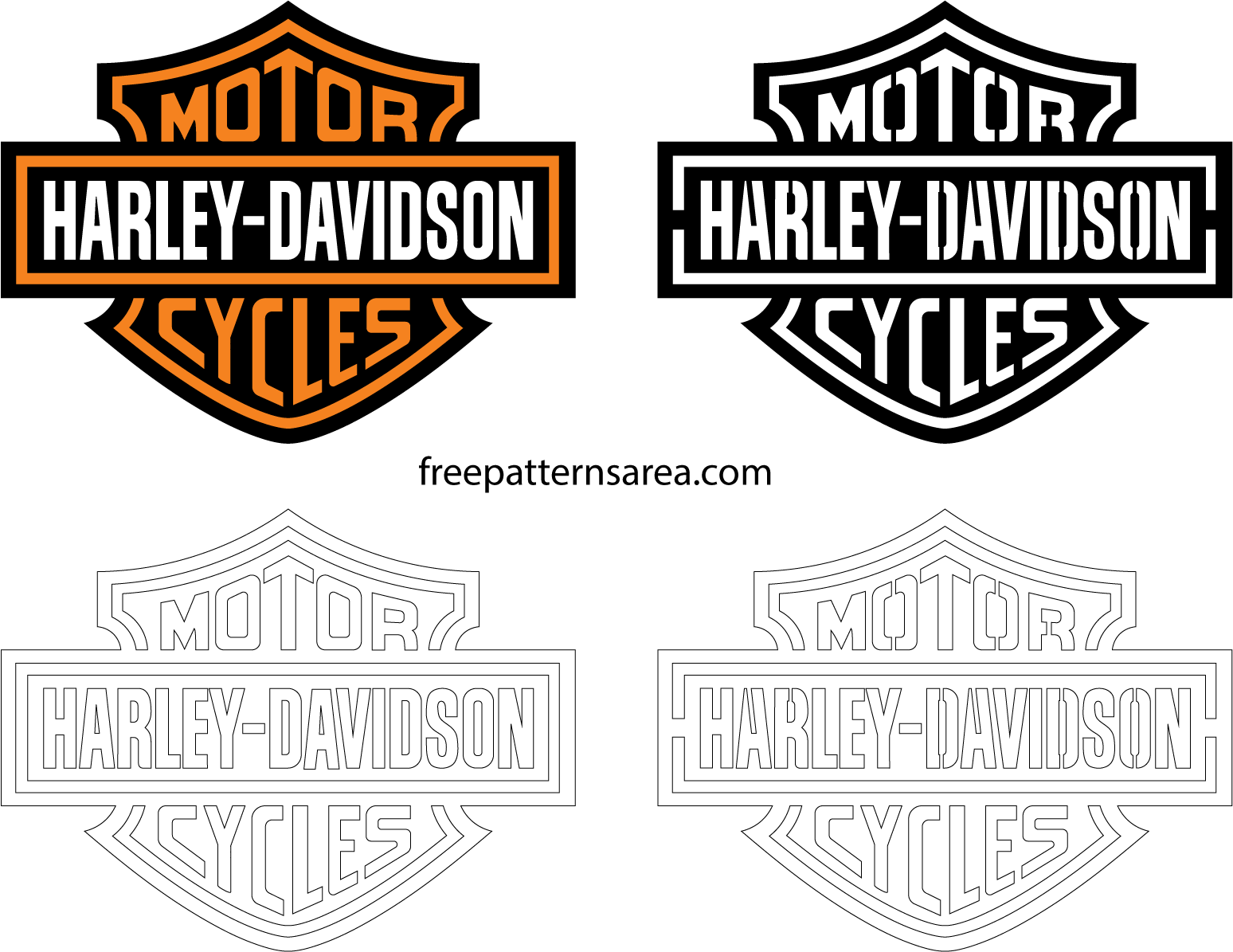 Harley Davidson Logo Download Free Choice Image ...