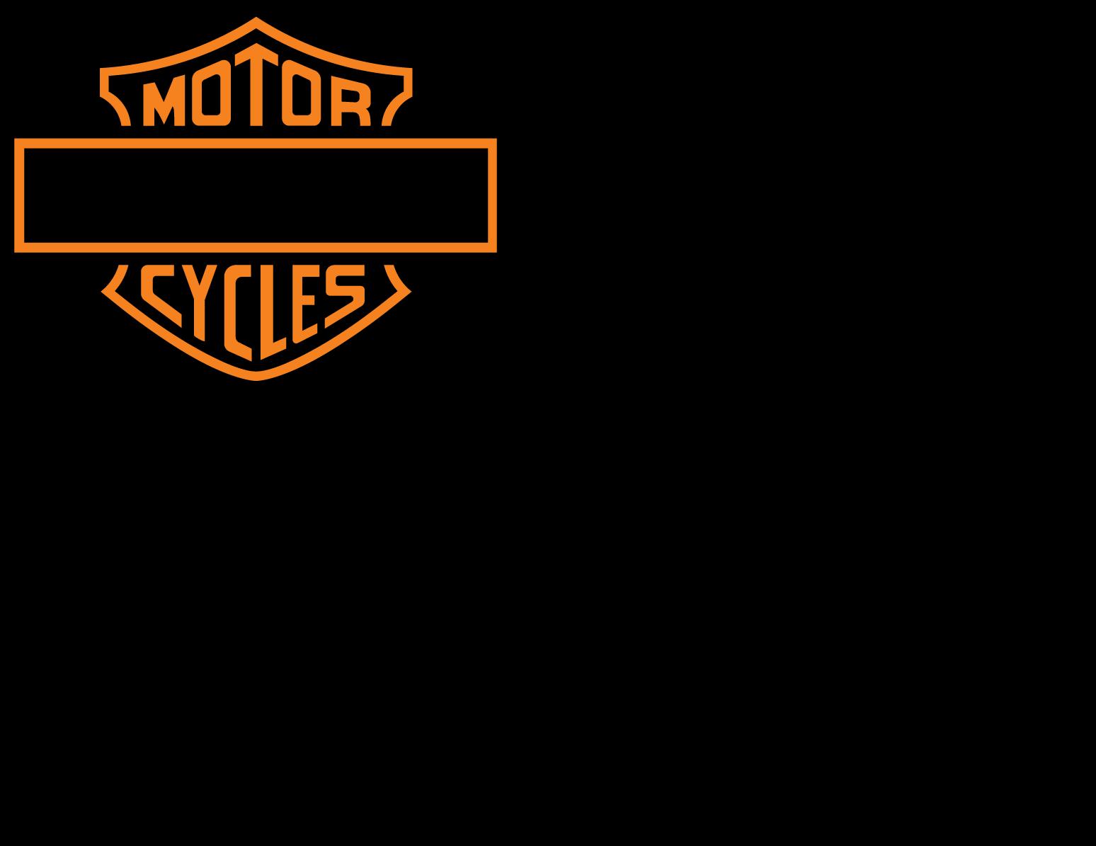 photograph relating to Printable Harley Davidson Logo named Harley Davidson Brand Stencil Vector FreePatternsArea