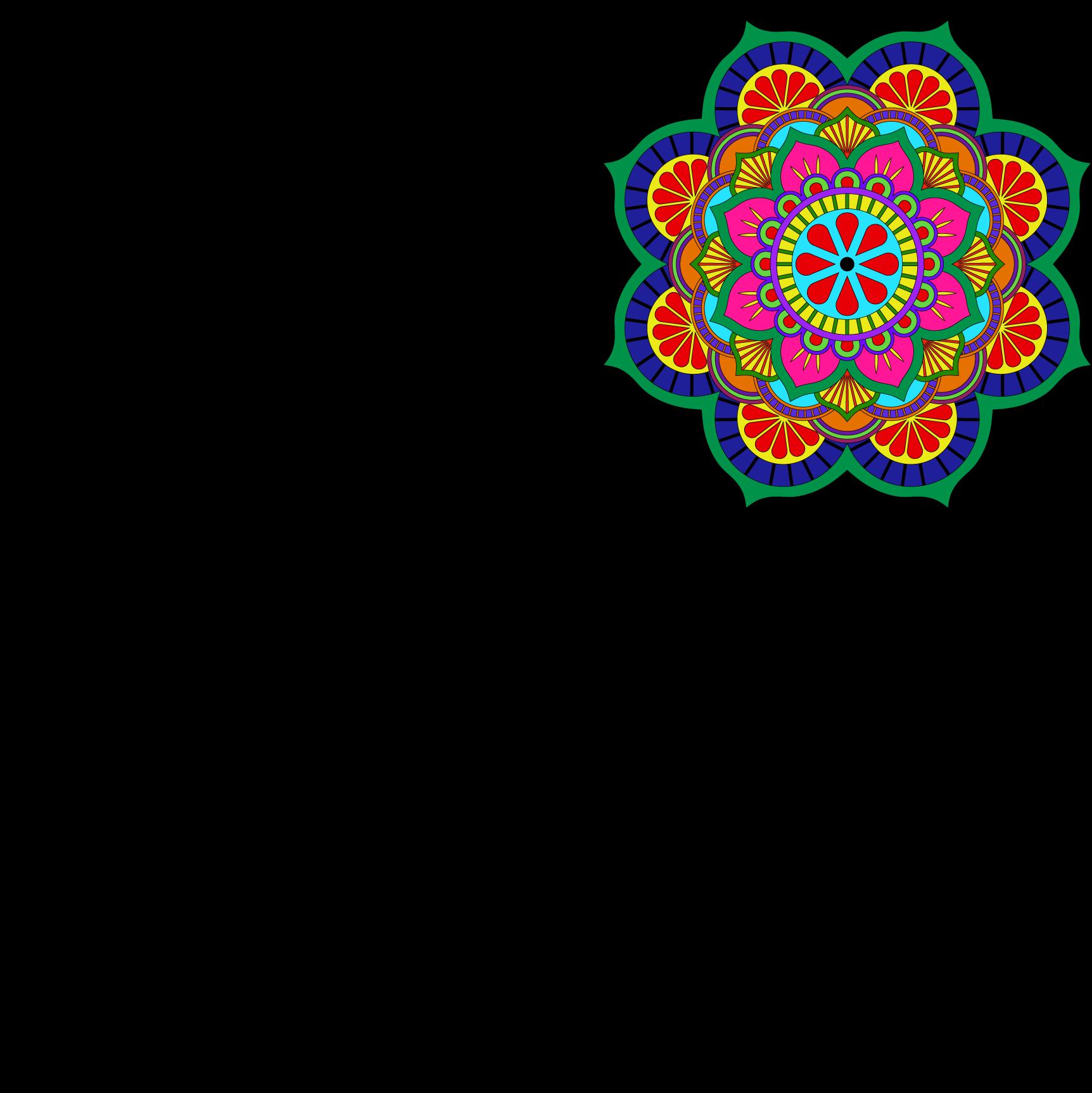 Home Design Autocad Free Download Lotus Mandala Vector Art Pattern Files Freepatternsarea